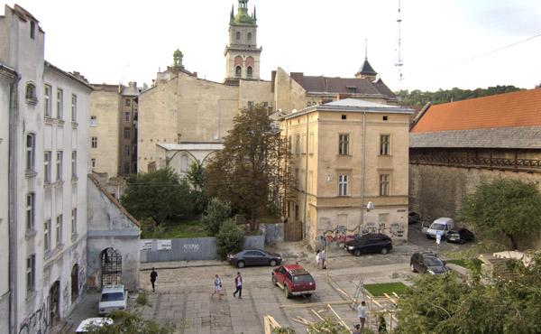 Єврейський квартал до початку проекту
