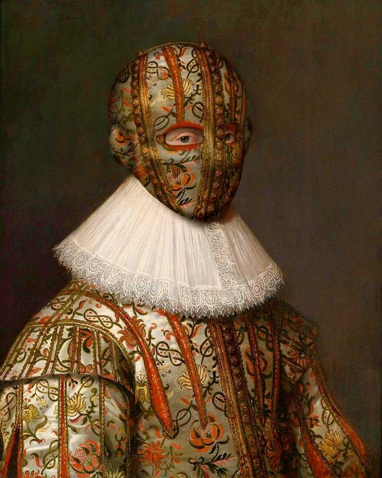 Персонажі класичних портретів надягнули захисні маски: що з цього вийшло