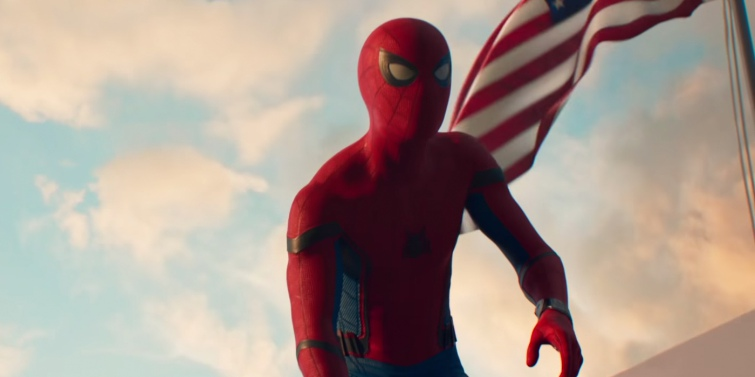 Фильм Человек паук : Возвращение домой в 4 dx на