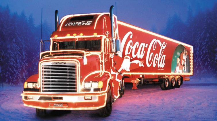 Свято наближається? У Британії хочуть заборонити новорічну вантажівку  кока-коли | Українська правда _Життя