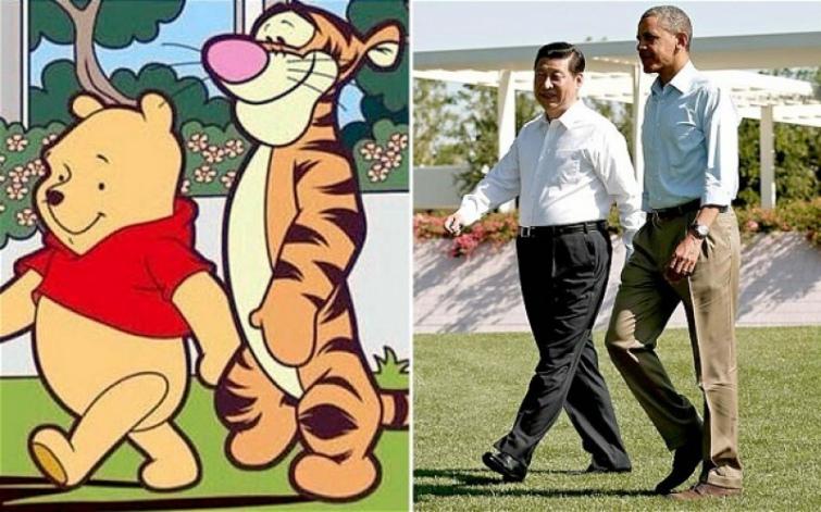 УКитаї Вінні-Пух потрапив під цензуру через схожість зпрезидентом