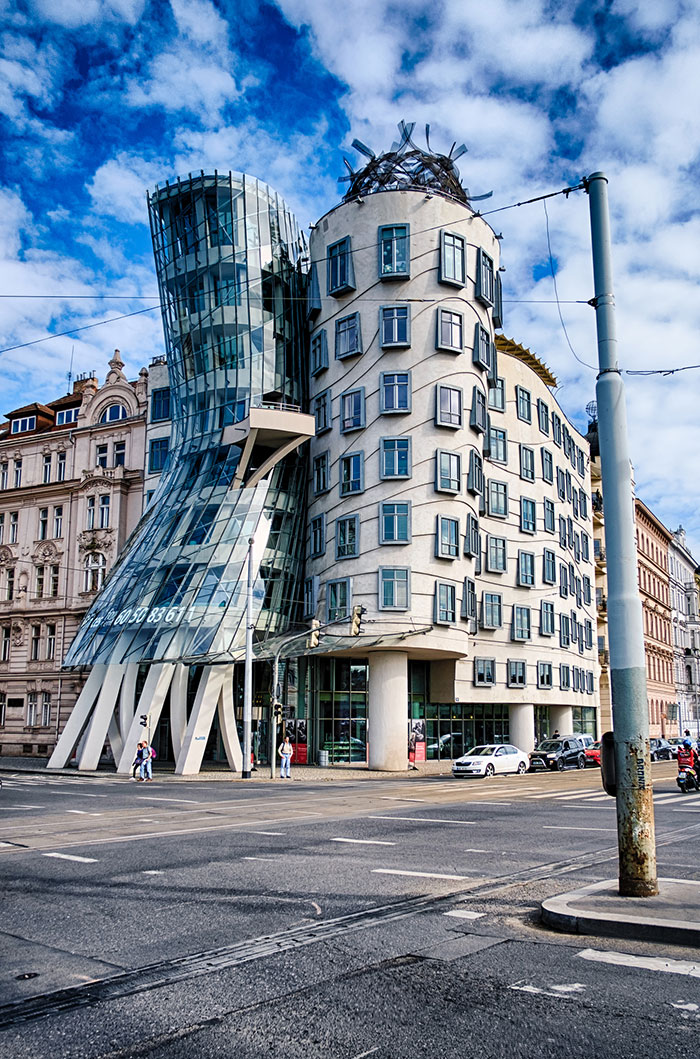 Image result for dancing house