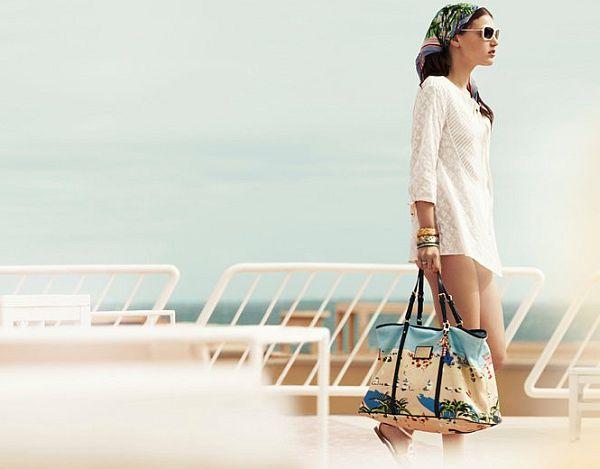 "женская одежда - рекламная фотосъёмка - Louis Vuitton -  ""Ailleurs..."
