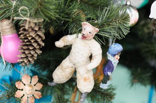 Відео як можна зробити гарні новорічні іграшки — pic 2