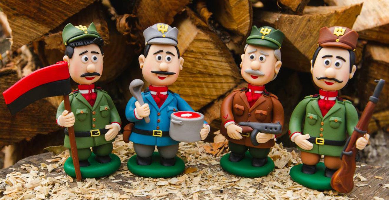 Від гуцулів та упівців до Винника й Зіброва: як франківець створює іграшки з полімерної глини (фото+відео)