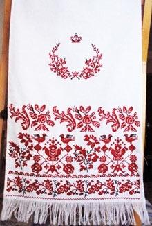 Весільний рушник власними руками  9adf556609141